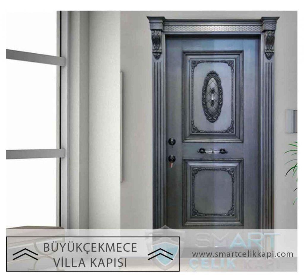 Büyükçekmece Villa Kapısı Modelleri Villa Giriş Kapısı Fiyatları Büyükçekmece Dış Mekan Çelik Kapı