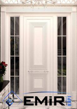 Beyaz Villa Kapısı Emir Çelik Kapı Villa Giriş Kapısı Dış Mekan Çelik Kapı