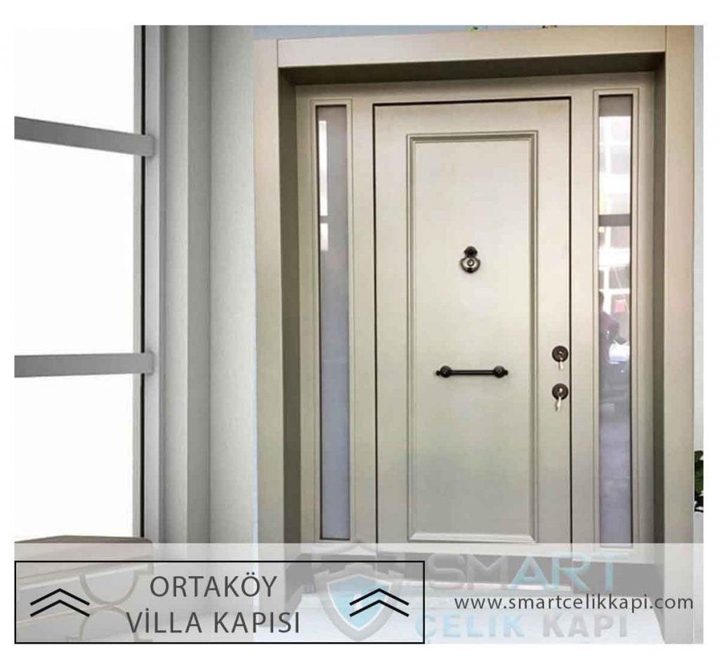 Ortaköy Villa Kapısı Modelleri Villa Giriş Kapısı Ortaköy Beşiktaş Dış Mekan Çelik Kapı