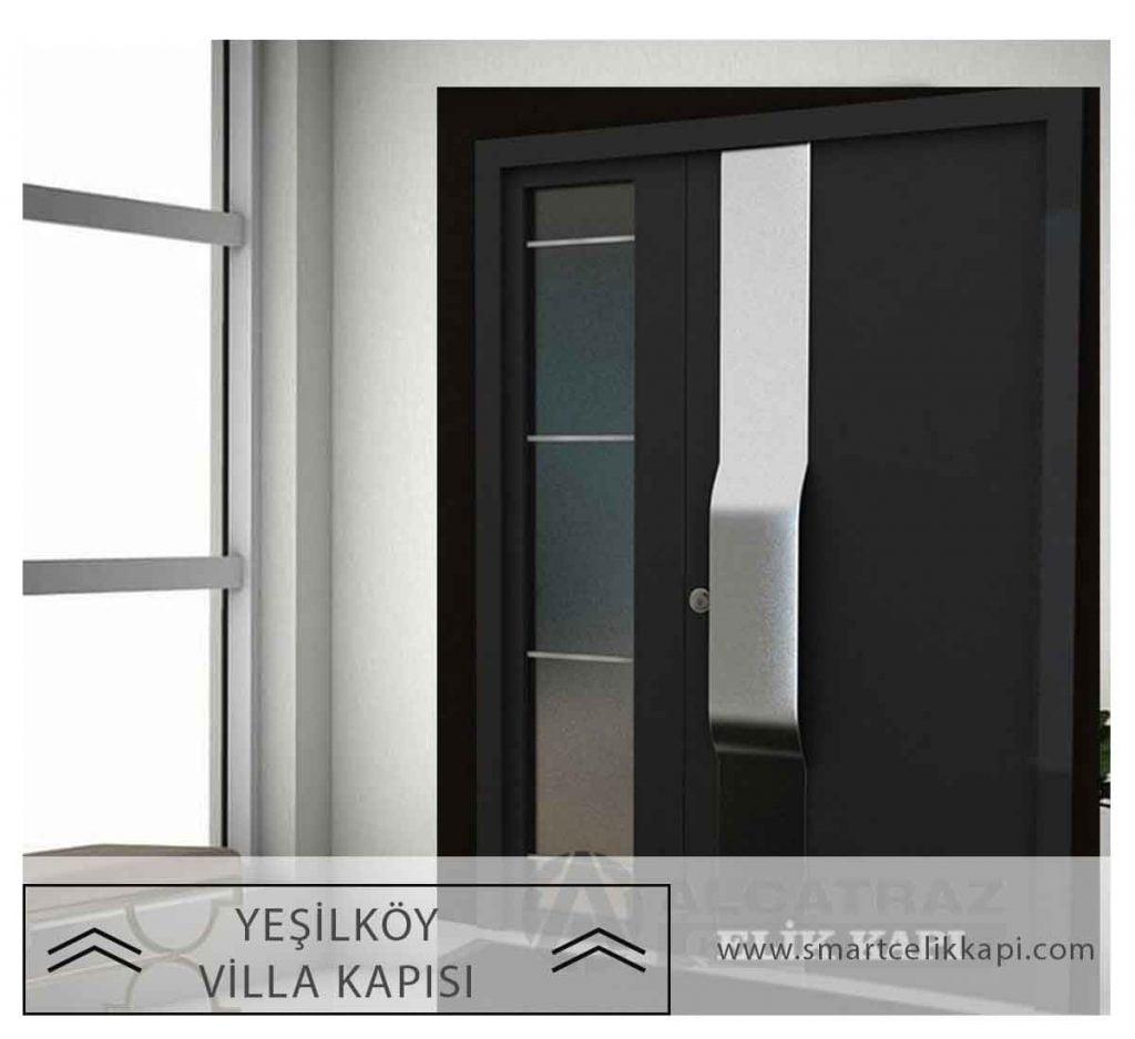 Yeşilköy Villa Kapısı Yeşilköy Çelik Kapı Villa Kapısı Modelleri Yeşilköy Villa Giriş Kapıları