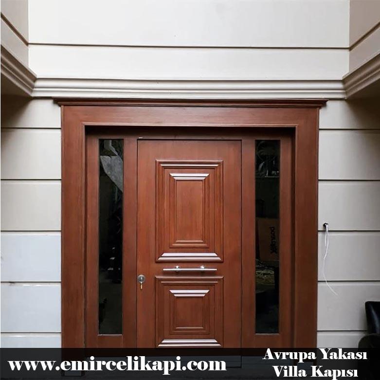avrupa-yakası Villa Kapısı 2021 Villa Kapı Modelleri Villa Giriş Kapısı Fiyatları İndirimli Villa Kapısı Kompozit Dış Mekan Çelik Kapı