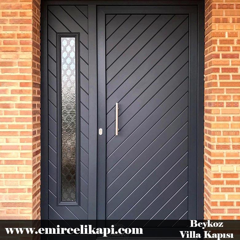 beykoz Villa Kapısı 2021 Villa Kapı Modelleri Villa Giriş Kapısı Fiyatları İndirimli Villa Kapısı Kompozit Dış Mekan Çelik Kapı