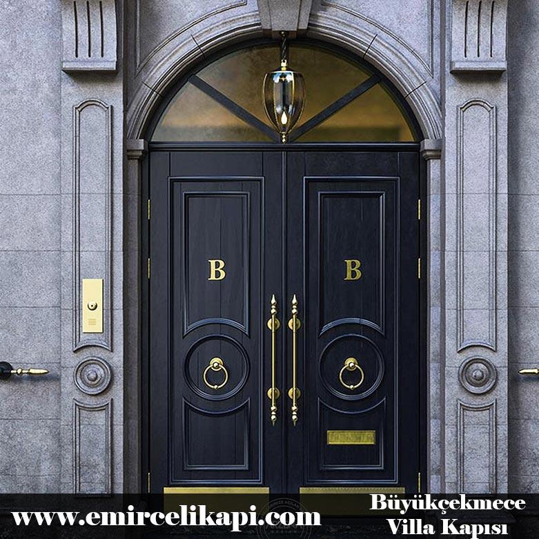 Büyükçekmece Villa Kapısı 2021 İstanbul Villa Kapısı Modelleri Kompozit Ahşap Çelik Kapı