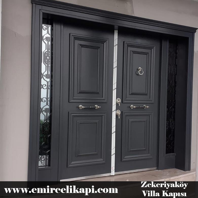 zekeriyaköy Villa Kapısı 2021 Villa Kapı Modelleri Villa Giriş Kapısı Fiyatları İndirimli Villa Kapısı Kompozit Dış Mekan Çelik Kapı