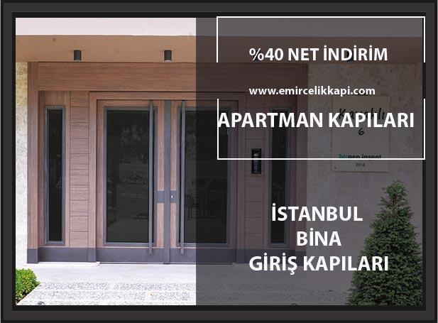 Apartman Giriş Kapısı Modelleri Banner Emir Çelik Kapı