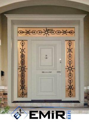 Beyaz Villa Kapısı Bahçeköy Villa Giriş Kapısı VK-030