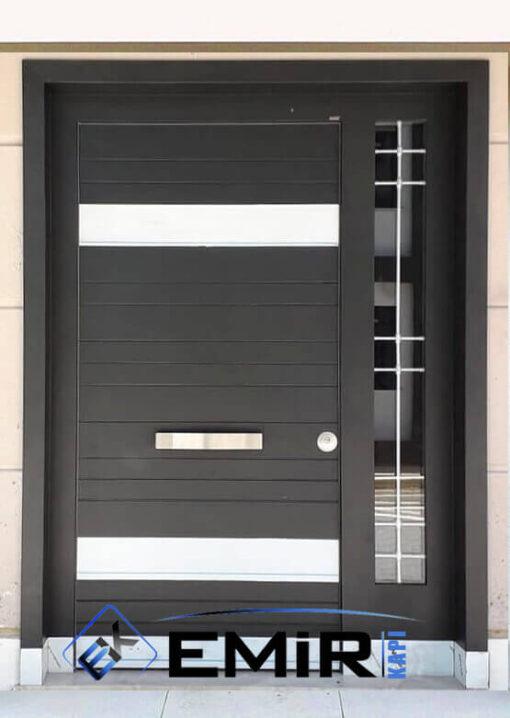 Kanlıca Villa Kapısı Çelik Kapı Dış Mekan Villa Giriş Kapısı İstanbul