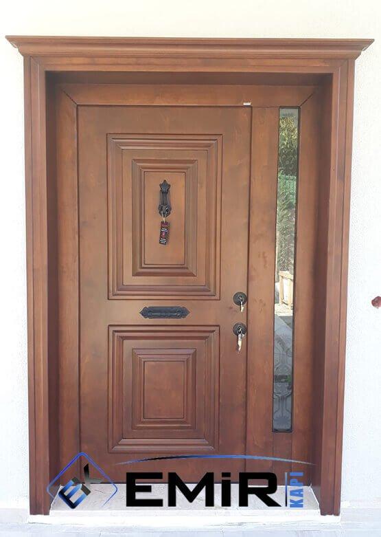 Marmaris Villa Kapısı Çelik Kapı Dış Mekan Villa Giriş Kapısı İstanbul