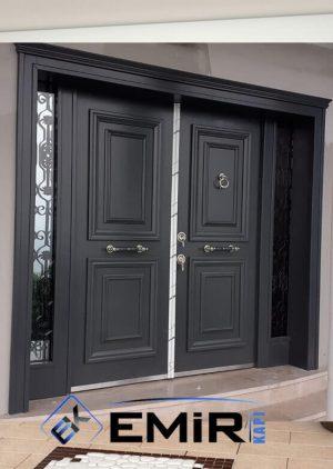 Lüks Villa Kapısı Klasik Dış Mekan Çelik Kapı VK-009