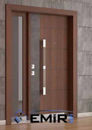 Doğal Taş Kaplama Villa Kapısı Özel Tasarım