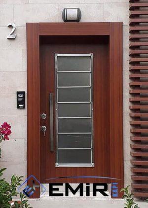 Kompozit Villa Kapısı Camlı VK-070