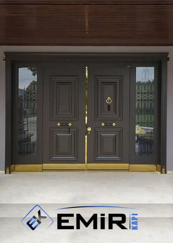 İSTİNYE Villa Kapısı Çelik Kapı Dış Mekan Villa Giriş Kapısı İstanbul