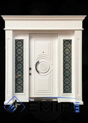 Özel Tasarım Lüks Beyaz Villa Kapısı