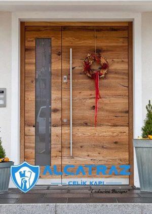 Almanya Villa Kapısı Modelleri Villa Giriş Kapısı VK-023