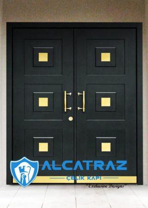 Azerbeycan Bakü Villa Kapısı Modelleri Villa Giriş Kapısı VK-027