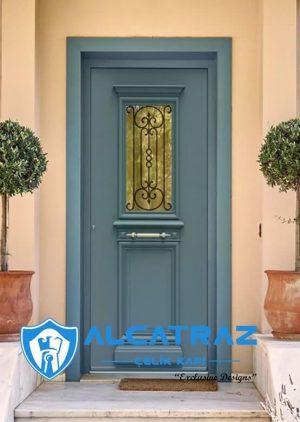 Fethiye Villa Kapısı Modelleri Villa Giriş Kapısı VK-042