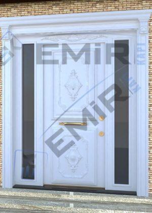 Beyaz Villa Kapısı İstanbul Villa Kapısı Modelleri