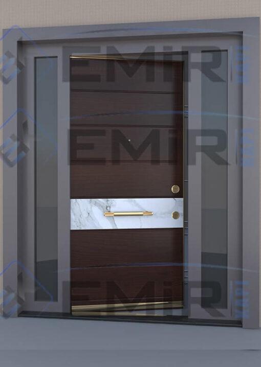 İstanbul Sarıyer Villa Kapısı Kompozit Villa Kapısı Ahşap Kaplama Villa Giriş Kapısı Modelleri İndirimli Villa Kapıları Özel Tasarım Villa Kapısı