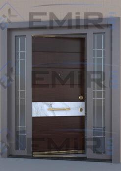 İstanbul Üsküdar Villa Kapısı Kompozit Villa Kapısı Ahşap Kaplama Villa Giriş Kapısı Modelleri İndirimli Villa Kapıları Özel Tasarım Villa Kapısı