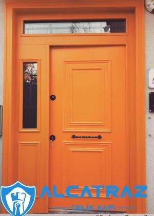 Hardal Villa Kapısı Chiliz Çelik Kapı VK-099