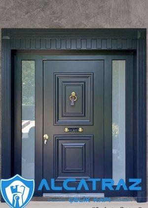 Ahşap Kaplama Klasik Tasarım Villa Kapısı VK-012
