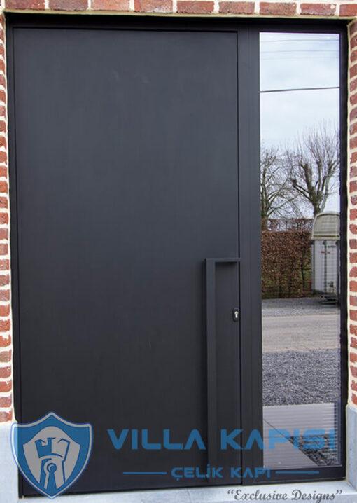Modern Villa Kapısı Kompozit Villa Kapısı Modelleri Kompak Villa Kapıları İstanbul Villa Giriş Kapısı Çelik Kapı
