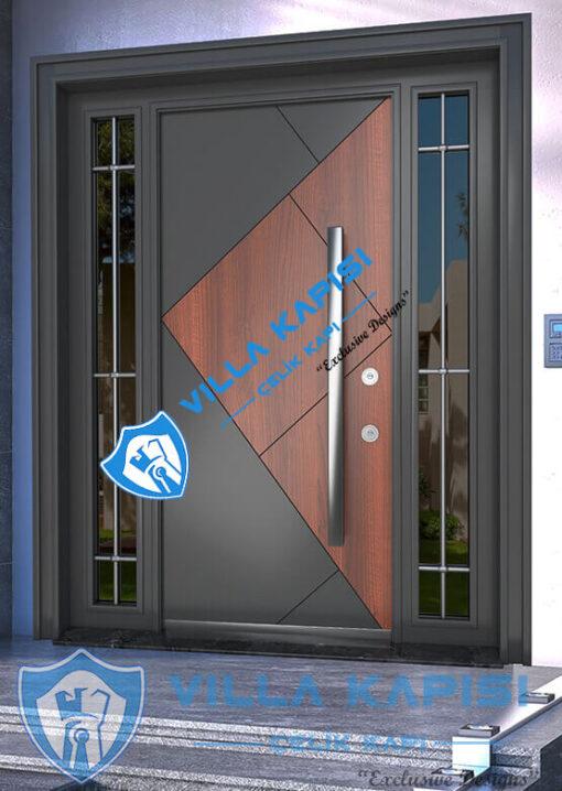Granit Modern Villa Kapısı Kompozit Villa Kapısı Modelleri Kompak Villa Kapıları İstanbul Villa Giriş Kapısı Çelik Kapı