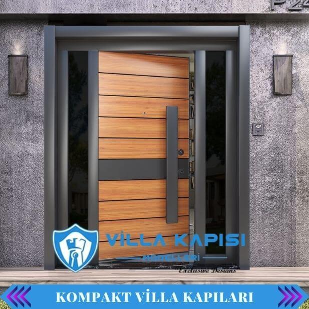 Kompakt Lamine Villa Kapısı Modelleri Fiyatları